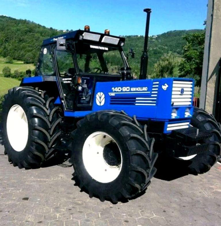 New Holland 140 90 Fwd Tractor Landbouwmachines Landbouw Ford
