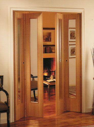 Puerta ventana de madera corrediza buscar con google - Puerta plegable madera ...