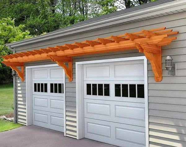 Pergola Over Garage an Excellent Option – Garage Pergola Plans