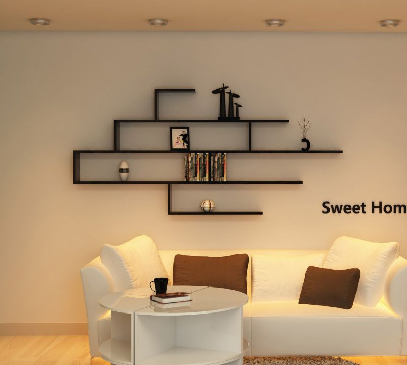 Decorative Wall Shelves For Living Room Wall Units Storage