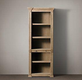 Home Office Storage Restoration Hardware Antique Bookcase