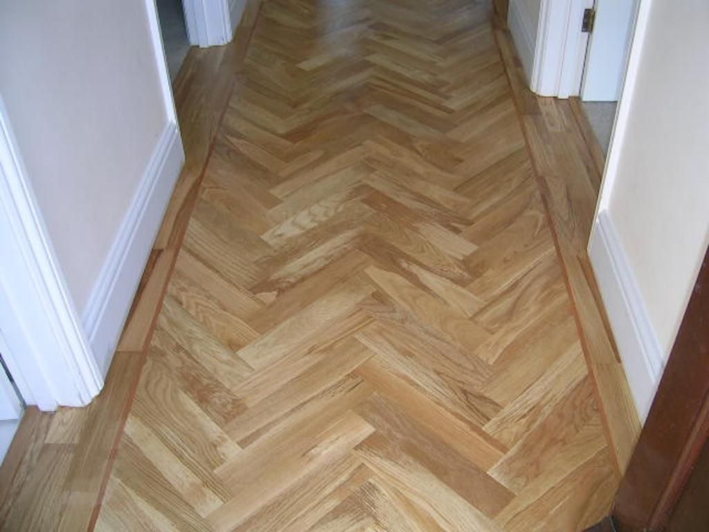Beautiful parquet oak in this hallway.. wood woodworking
