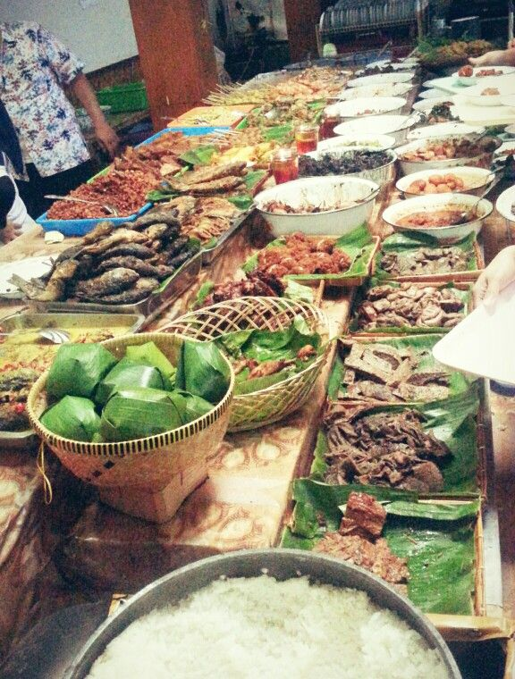 Nasi Bancakan Mang Barna Bi O Om Wisata Kuliner Food Ethnic