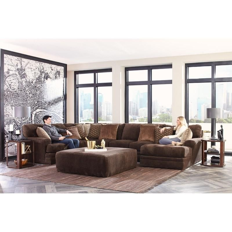 Jackson Furniture Sectionals Mammoth 4376 4 Pc Sectional
