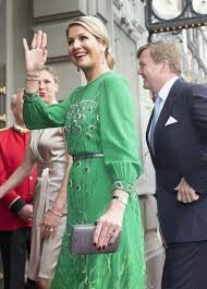 Queen Maxima arriving for Freedom Concert on May 05, 2014