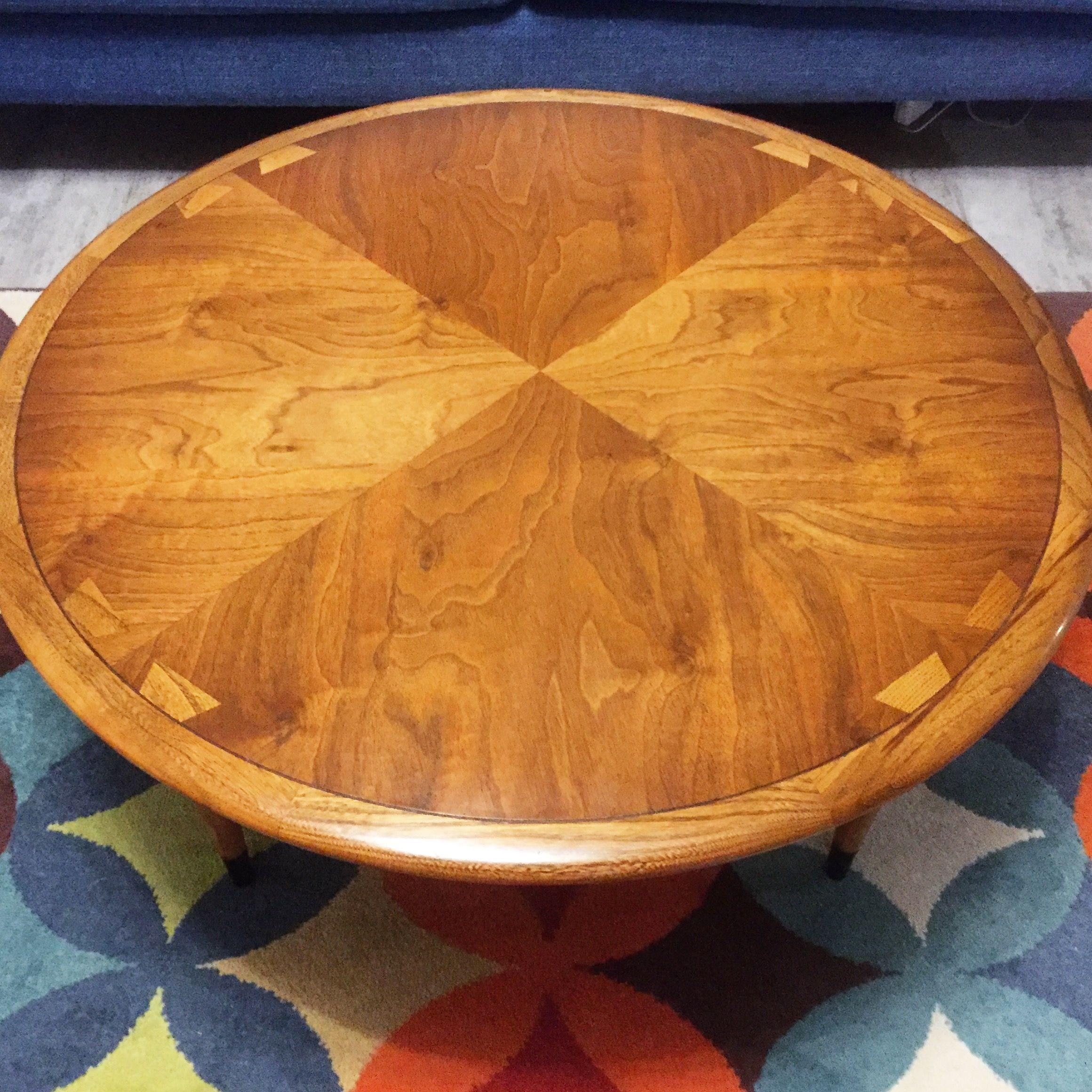 Lane Acclaim Round Coffee Table Mid Century Decor Century Decor Coffee Table [ 2321 x 2321 Pixel ]
