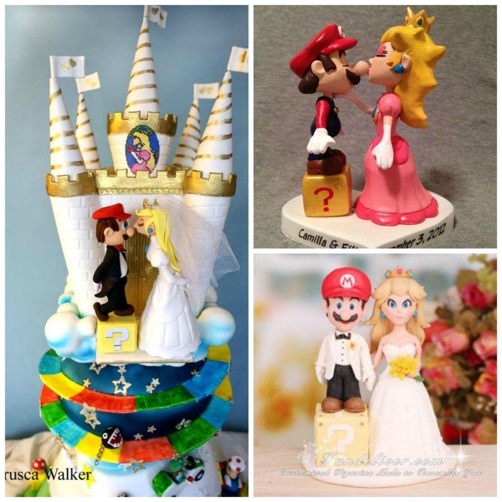 gateau mario mariage Pinterest