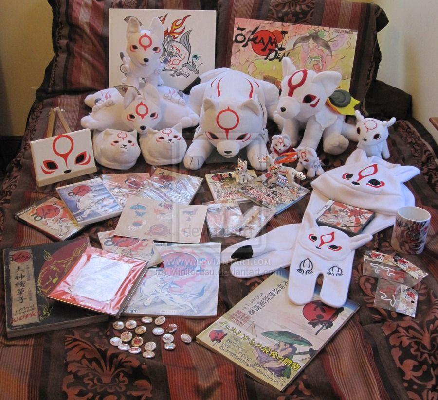Full Okami Collection as February 2012 by Miniterasu on deviantART
