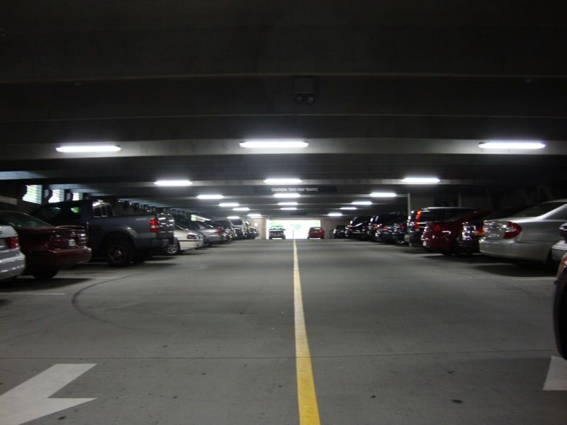 T5 lighting in parking garage commercial t5 lighting pinterest t5 t5 lighting in parking garage aloadofball Image collections