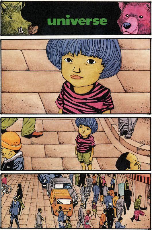 kurutta matsumoto week universe cartoon illustration art new project ideas