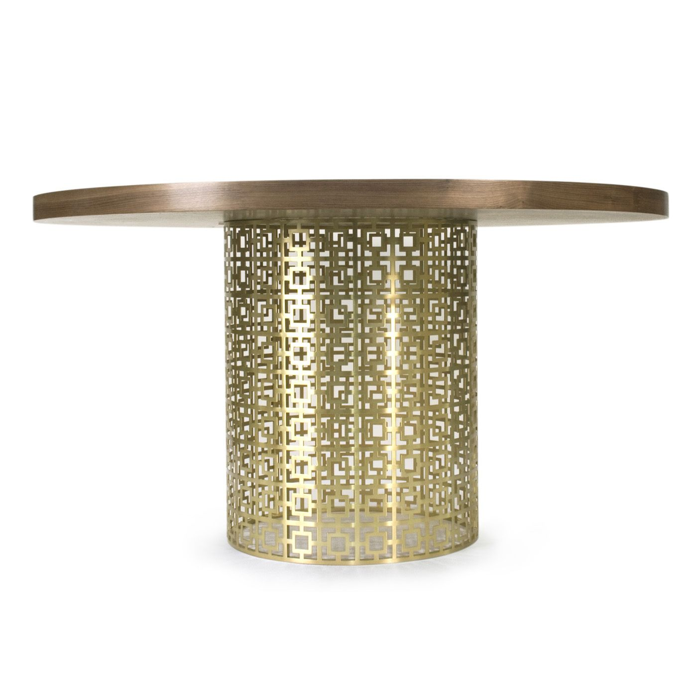 Jonathan Adler Nixon Dining Table In Dining Tables Buffets Dining Table Brass Dining Table Contemporary Dining Table