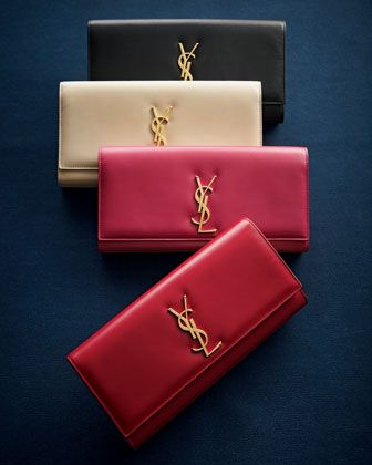 062be85f010f Cassandre Clutch Bag YSL | Handbags in 2019 | Leather clutch bags ...