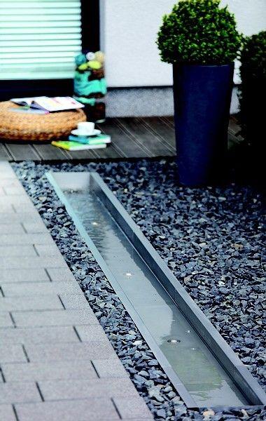 Oase edelstahl bachlaufschale leuchtelement garten for Oase living water ersatzteile