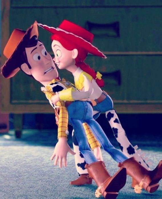 Toy story : woody and Jessie : love : Disney movie ...