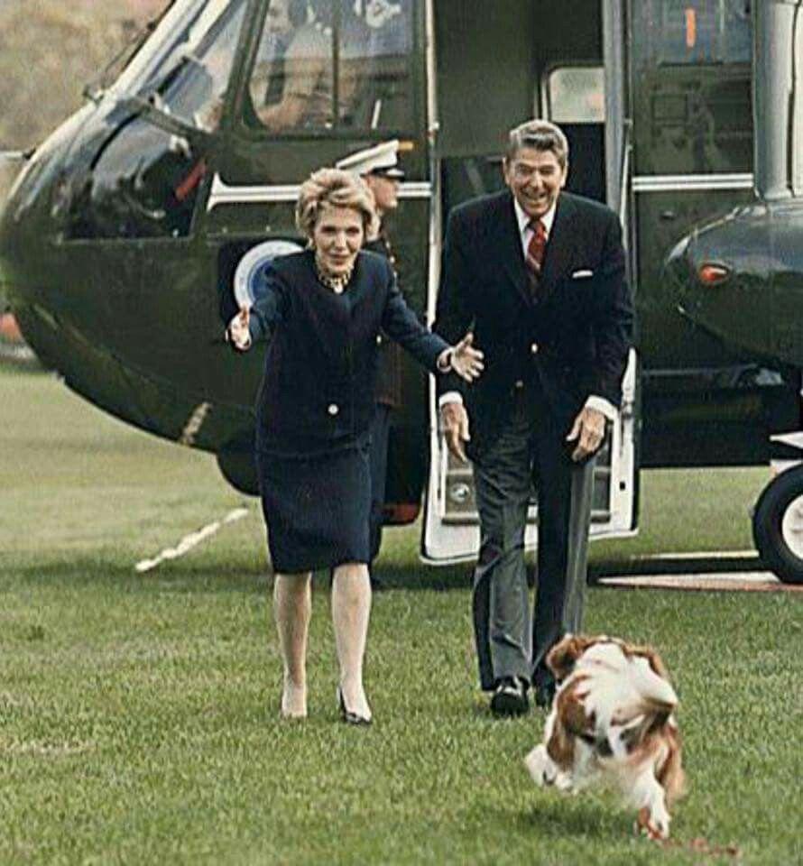 Les Reagan avec Rex