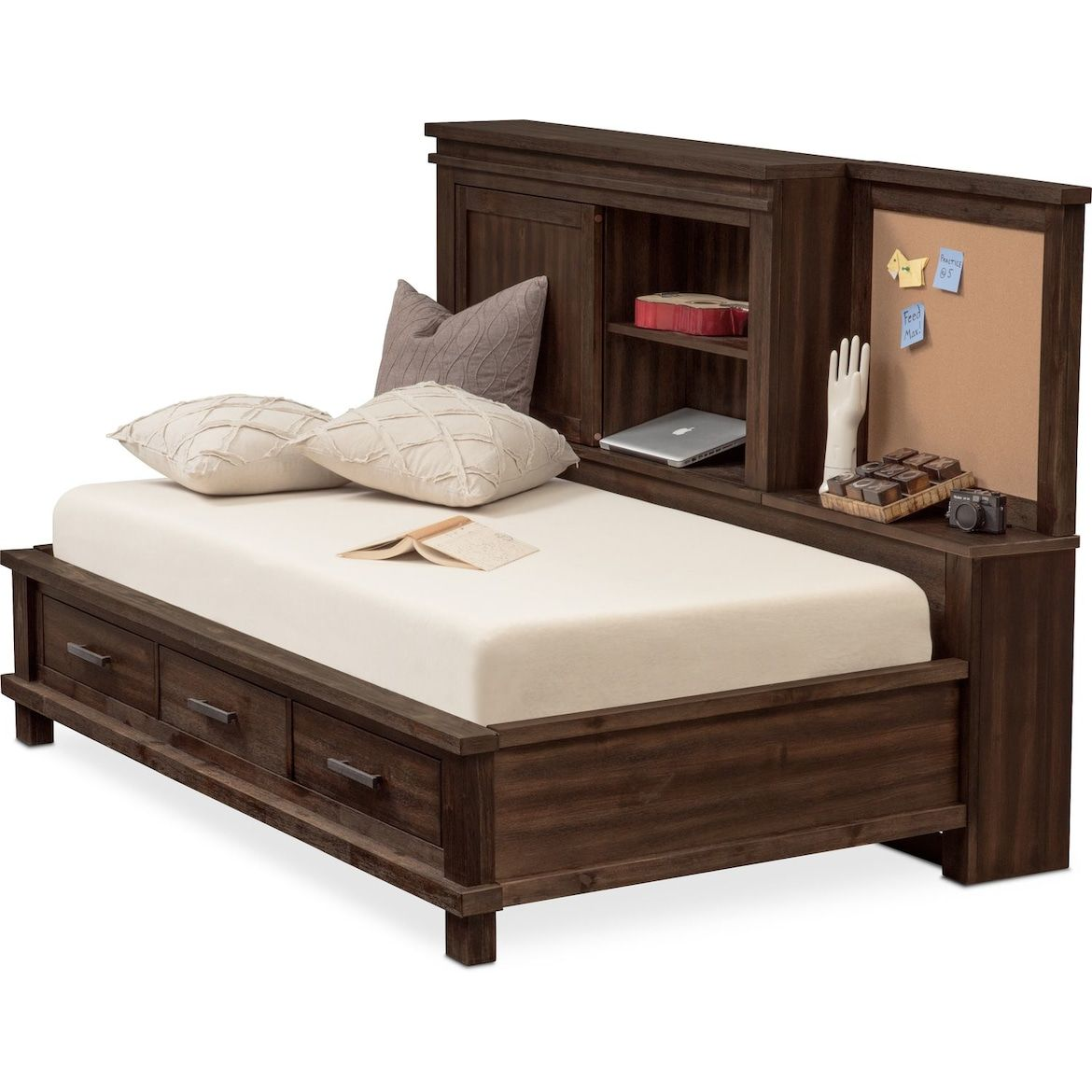 Tribeca Lounge Storage Bed in 2020 Value city furniture