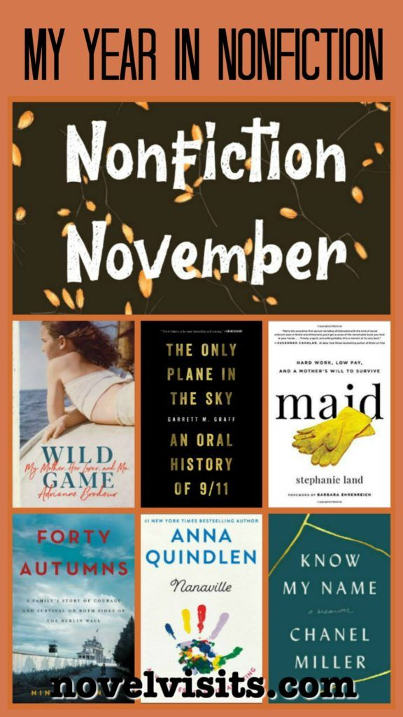 My Year in Nonfiction 2019 is part of Nonfiction books, Nonfiction, Nonfiction reading, Book recommendations, Fiction books, Book worth reading - A look back at nonfiction books for 2019, including my top nonfiction, plus nonfiction reading trends and more,
