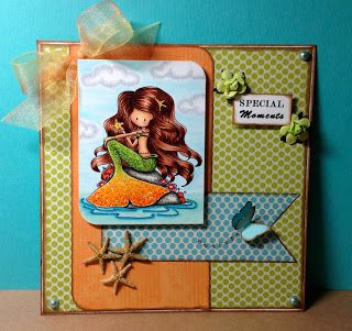Colorful Copic Creations: Tiddly Inks Fairies and Mermaids