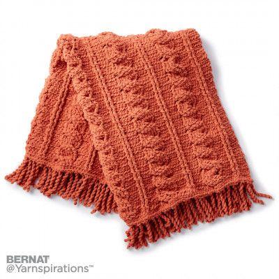 Free Intermediate Crochet Afghan | crocheting | Pinterest | Prendas ...
