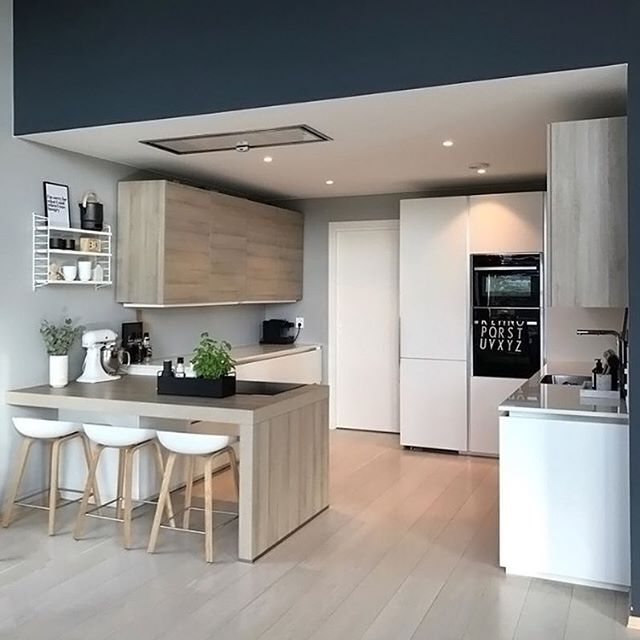 the gorgeous kitchen of annette vel design letters tea towel