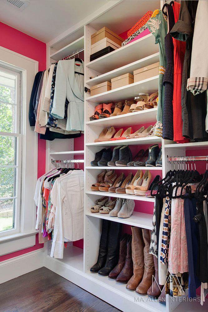Superbe Hot Pink Inside My Closet! MA ALLEN INTERIORS | GALLERY | INTERIOR DESIGN |  RALEIGH,NC