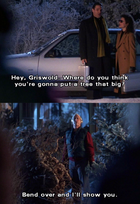 Christmas Vacation Quotes Tree.12 Days Of Highly Tolerable Holiday Movies National