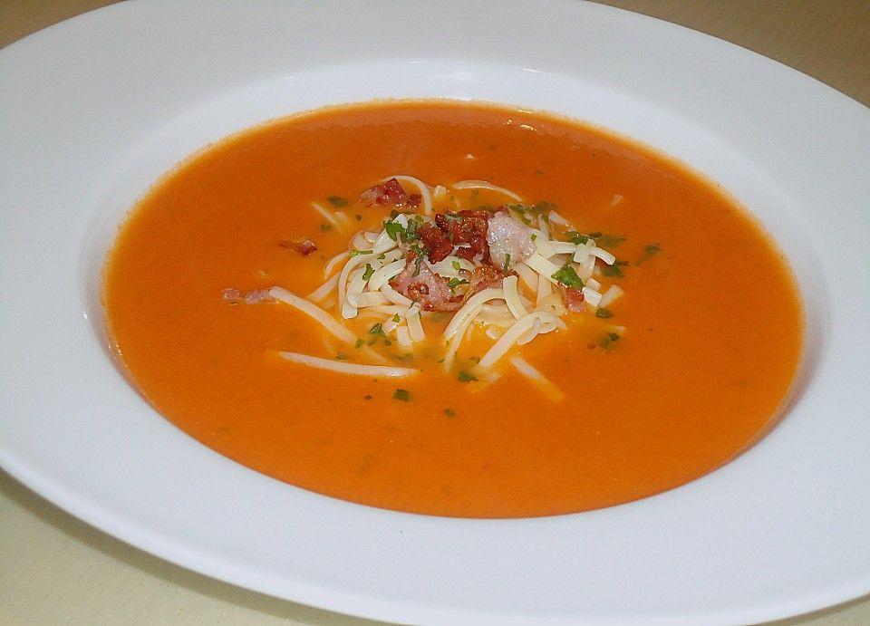 tomatensuppe mit nudeln nach oma josi rezept tomaten