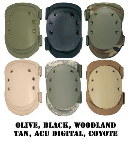 Military Style Protective Knee Pads Tactical Pad ACU Digital Camo Rothco 11058 for sale online