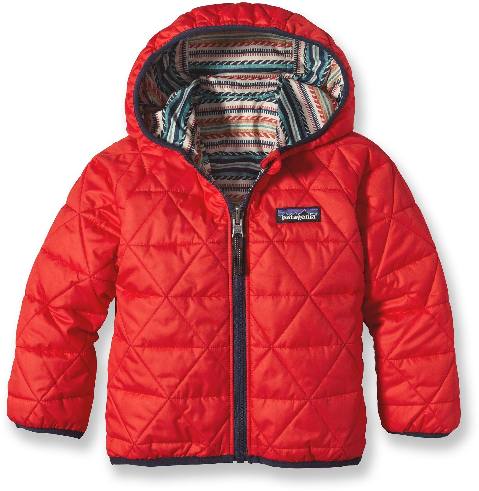 174e7b04d Patagonia Baby Reversible Puff-Ball Insulated Jacket - Infant/Toddler Boys'  - REI.com