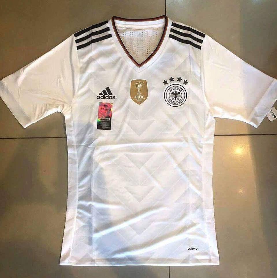 Germany German Adizero Player Home Football Shirt Name JSY 2016 2017 Soccer  Men  Adidas c15ec907b