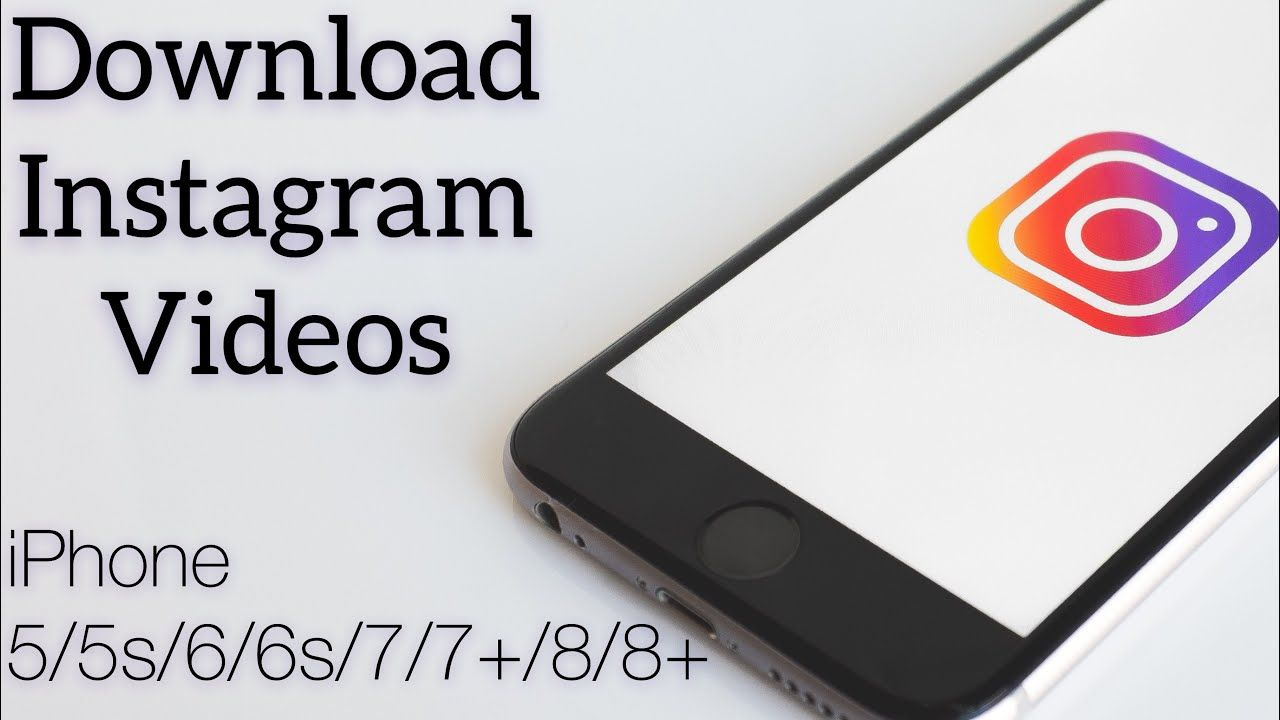 How to download Instagram videos on iphone, How to save