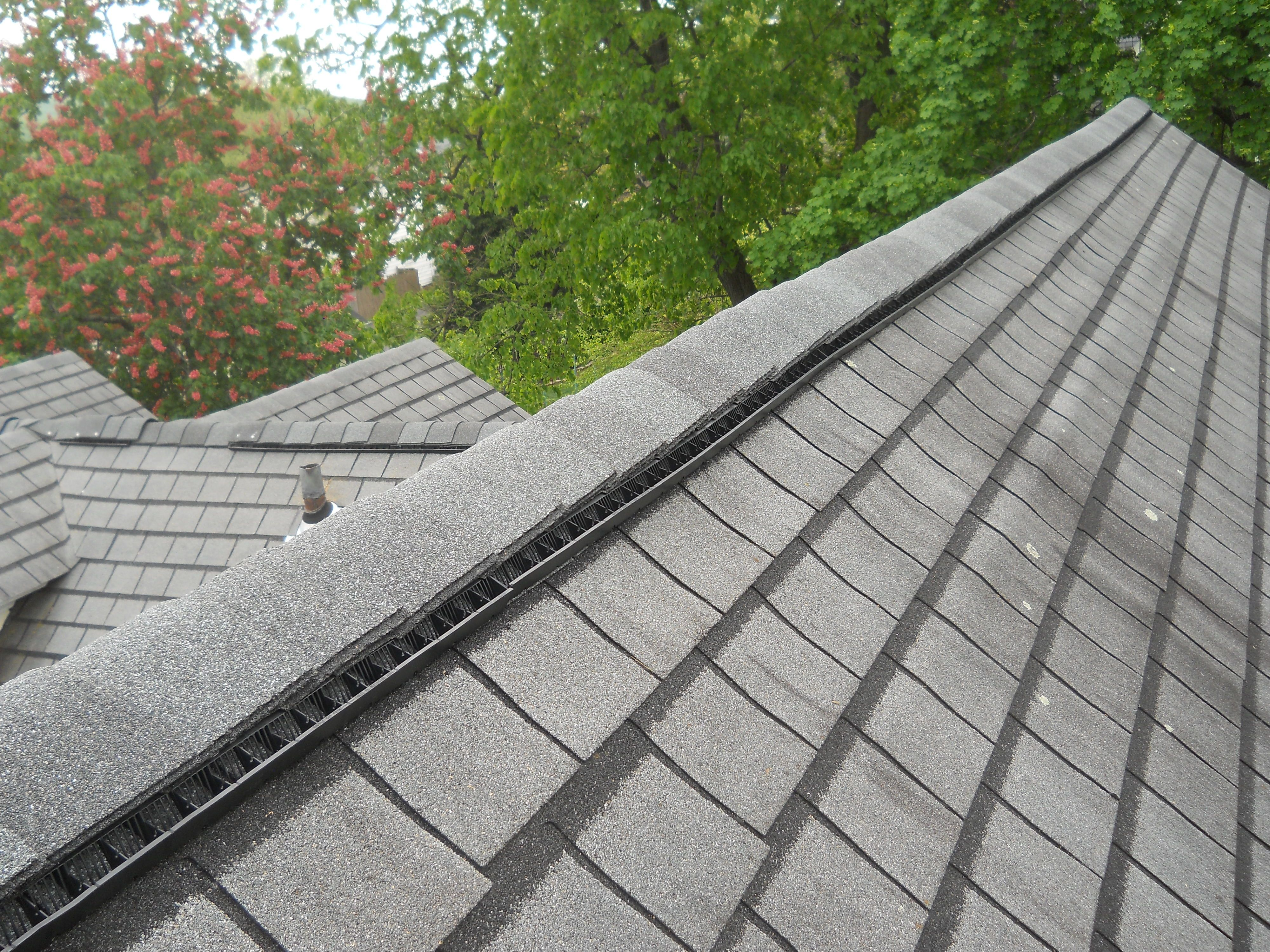 Gaf Snow Country Ridge Vent Shingle Roofing Pinterest