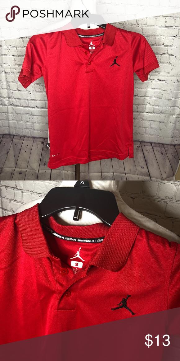 5af969a8f720 Boys Jordan Polo 100% polyester. EB Jordan Shirts   Tops Polos