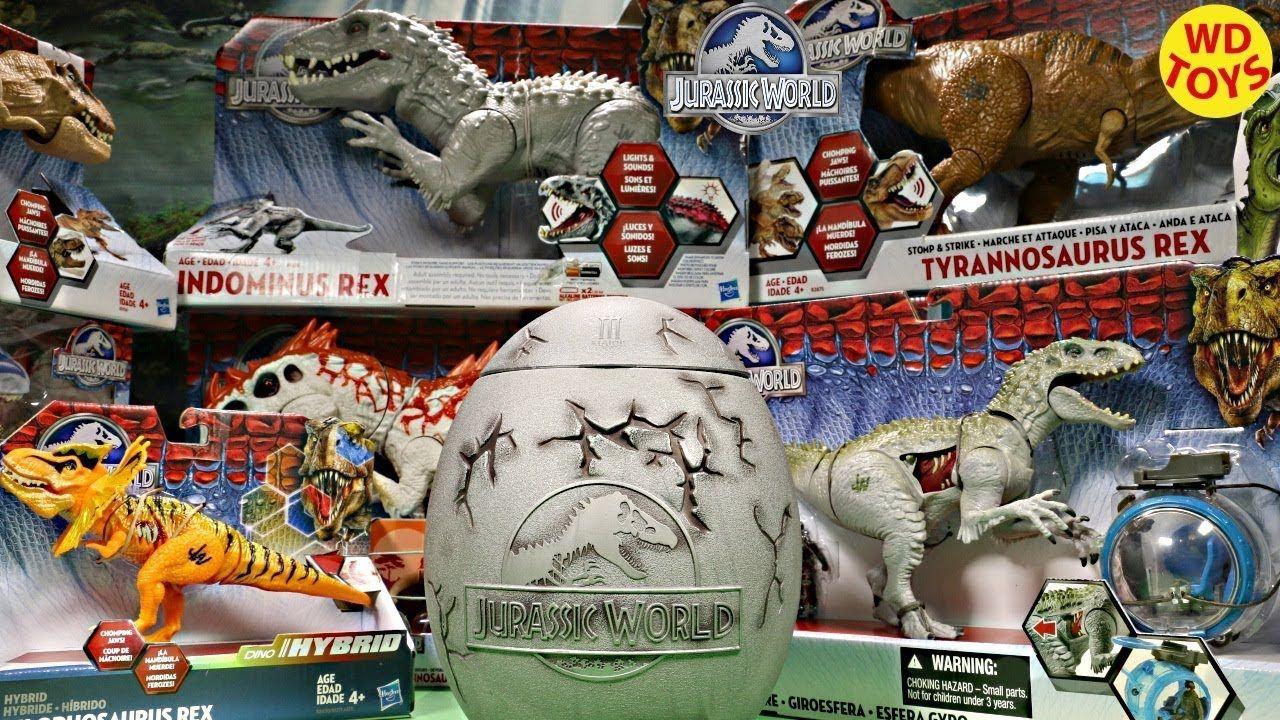 New Giant Jurassic World Surprise Egg Dinosaur Toys / T
