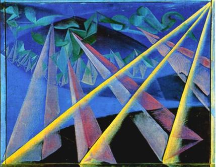 Giacomo Balla, Form-Spirit Transformation, 1918