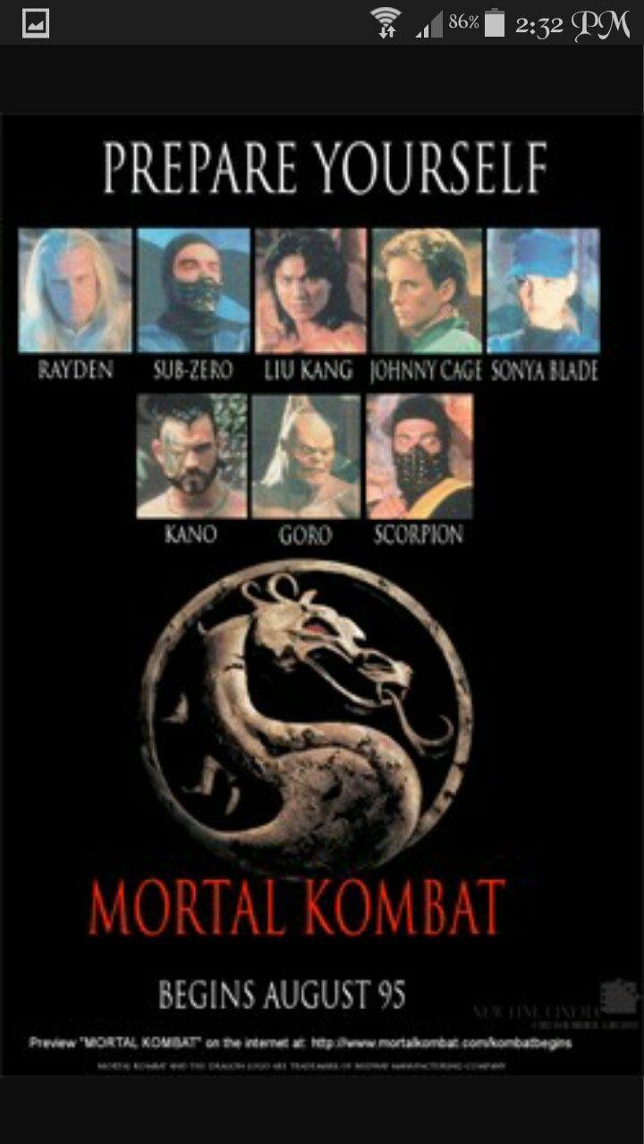 Mk Movie Poster Mortal Kombat Mortal Kombat Legacy Mortal Kombat Art