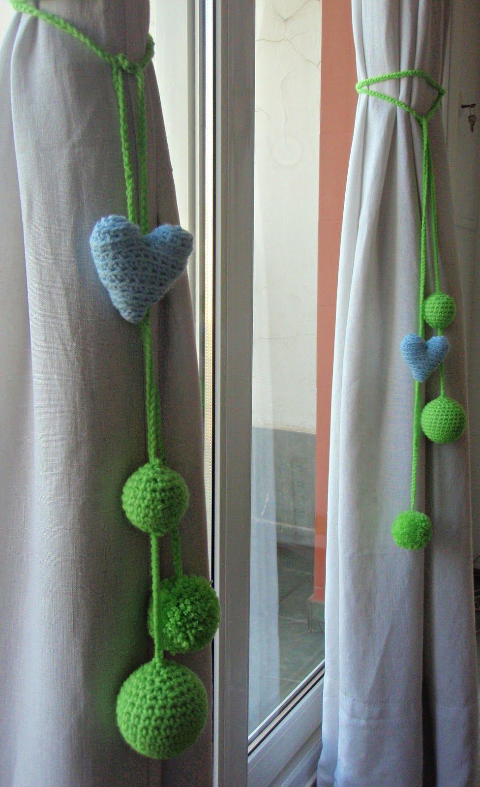 Nuevas cortinas y sujeta cortinas costura pinterest - Alzapanos para cortinas ...