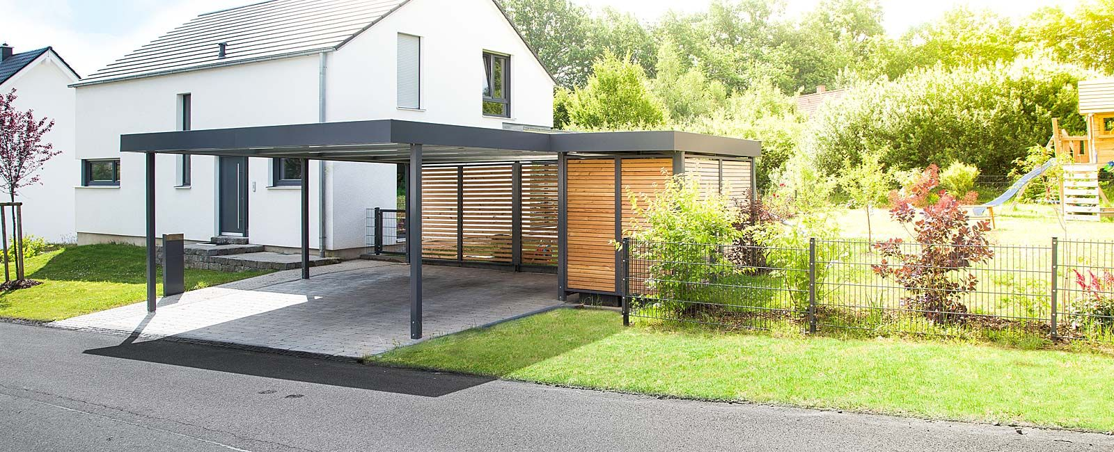 carport carport garage ger teh user von siebau carport garage pinterest au enterasse. Black Bedroom Furniture Sets. Home Design Ideas