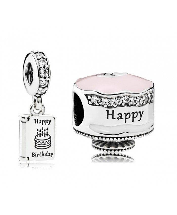 Pandora Black Friday Sale Happy Birthday Charms Set pandorablack