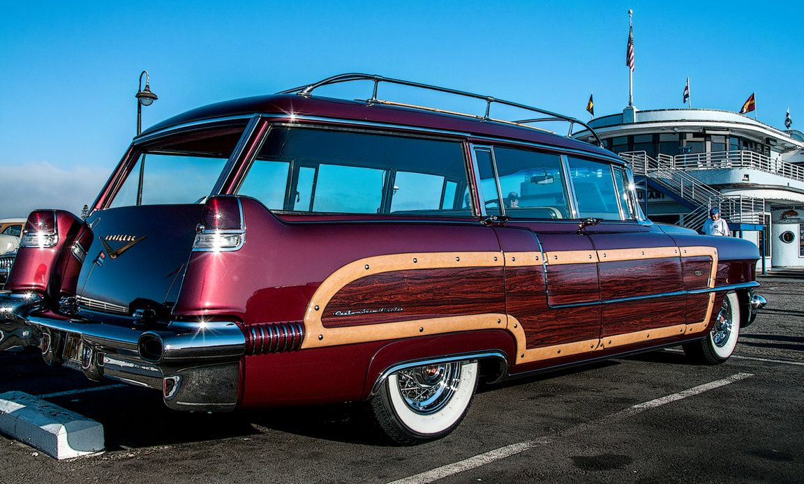1956 cadillac custom view master station wagon built by hess and eisenhardt