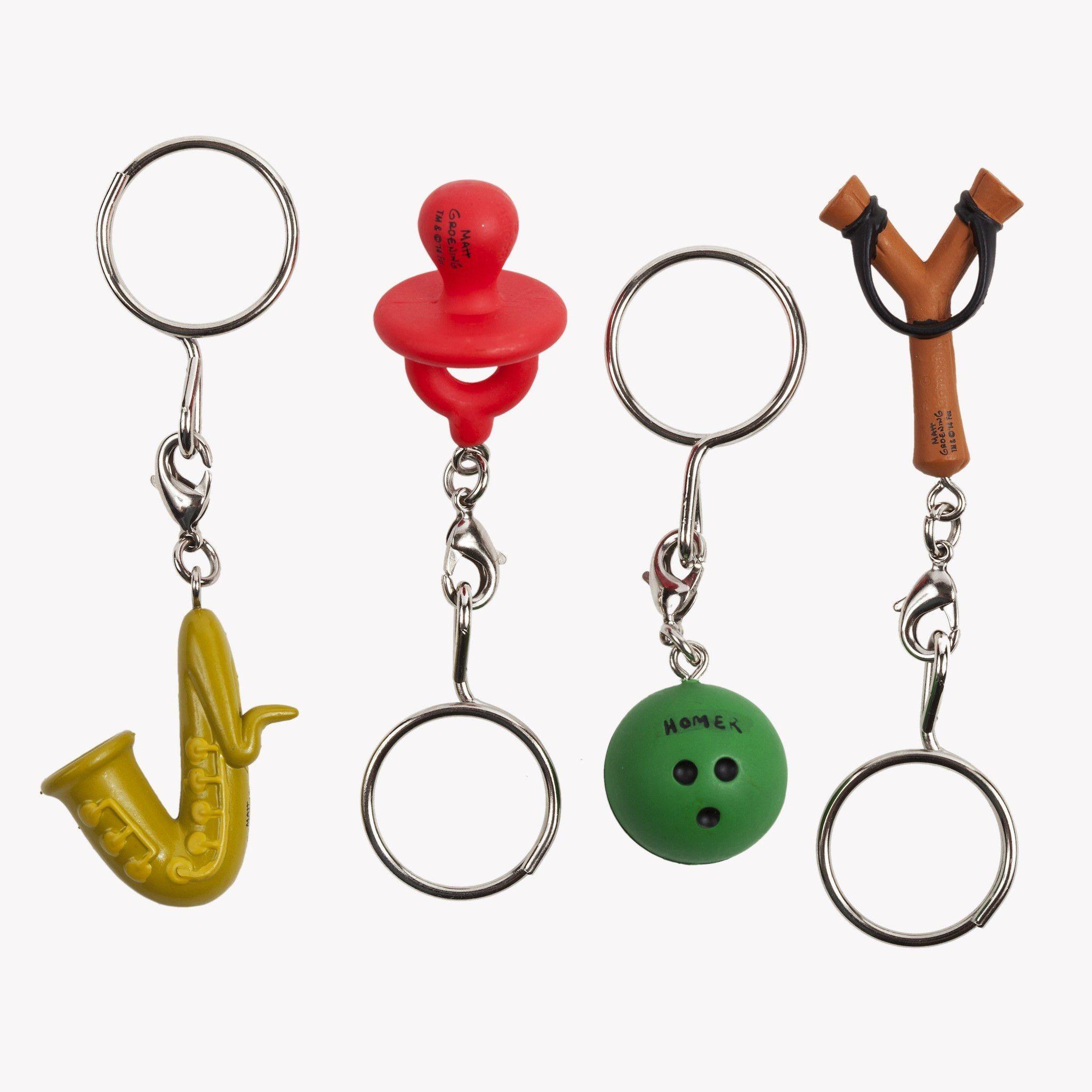 """Kidrobot Keychains Series 1 The Simpsons Moe Syzslak 1.5/"""" 3D Vinyl Keychain Box"""