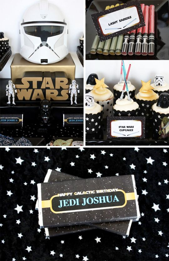 selection deco anniversaire star wars pinteres. Black Bedroom Furniture Sets. Home Design Ideas