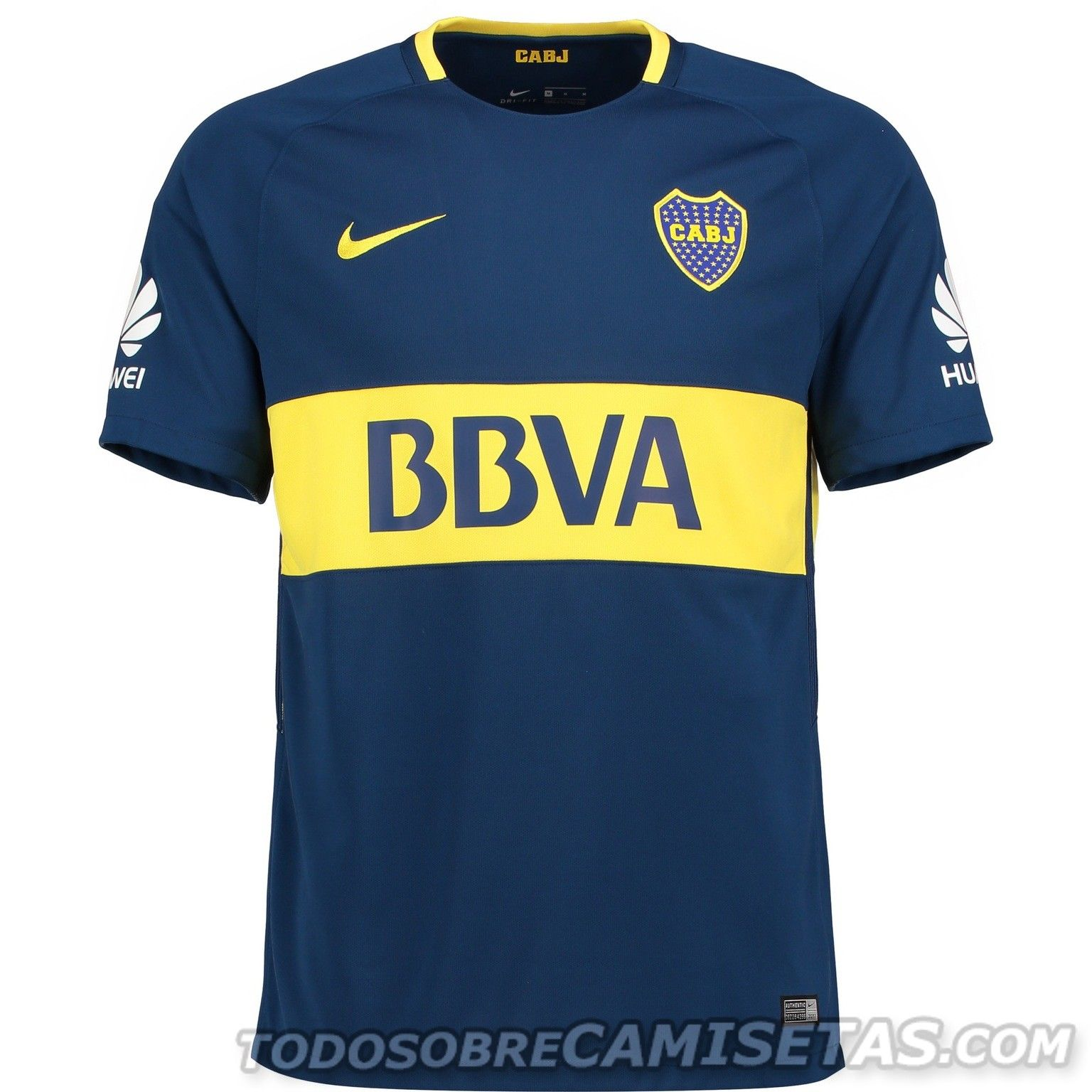 Camiseta Local Nike de Boca Juniors 2017-18  c0f29e88cf96c