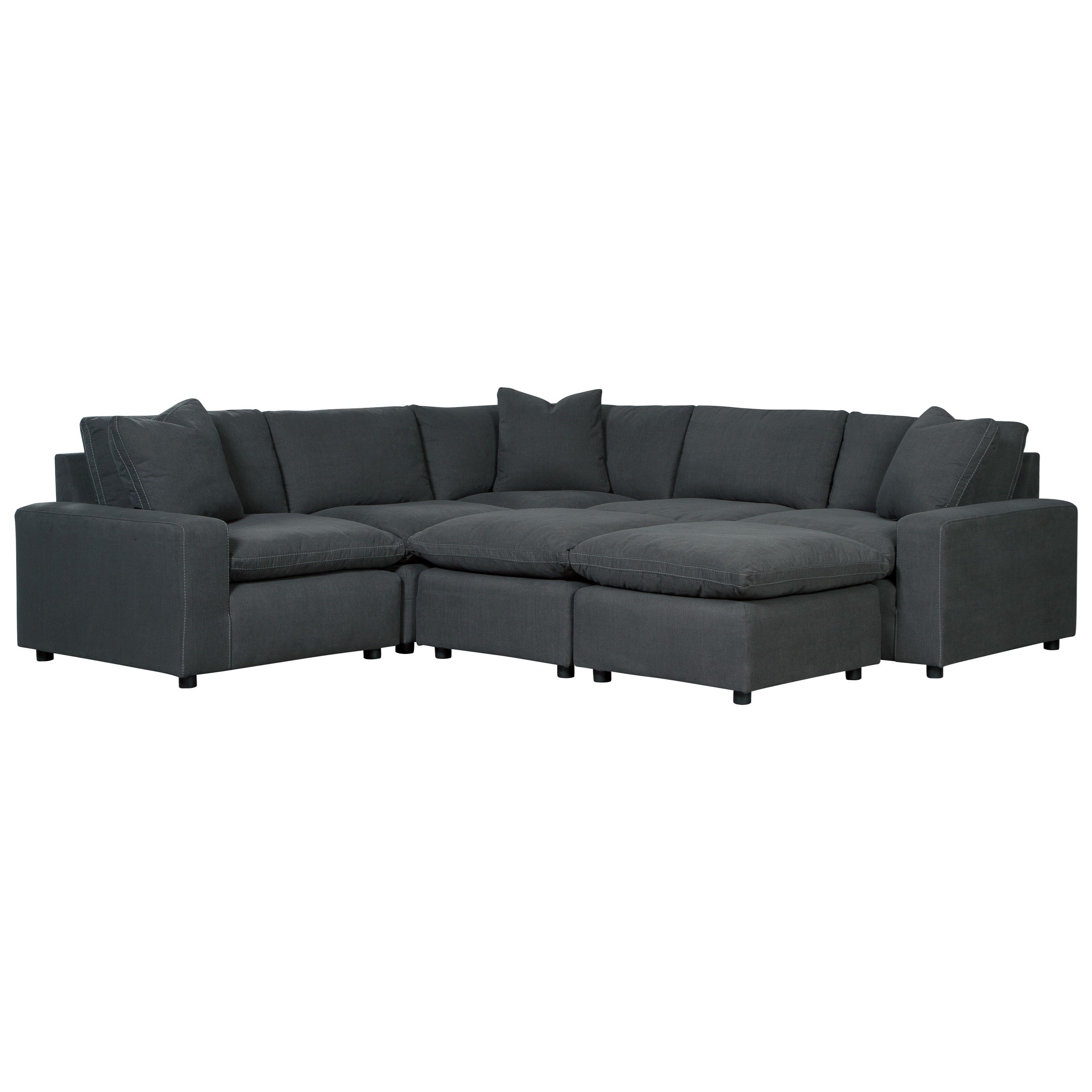 Savesto Casual Contemporary 7 Piece Sectional Set By Signature Design By Ashley Ashley Furniture Sectional Ashley Furniture Mattress Furniture