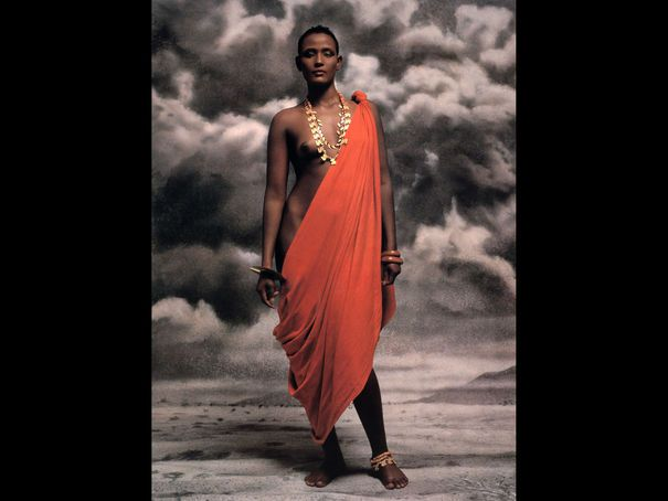 The one and only waris dirie varios pinterest africans for Naomi campbell pirelli