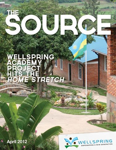 This issue of the Source is all about the Wellspring Academy, what it means for the Rwandans we serve, and the incredible opportunity to help us complete it. #Education #Rwanda