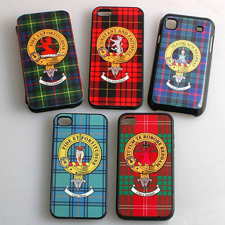 Clan Crest Phone Covers. Now that is great!!!!