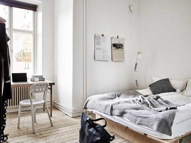 Soft Minimalism With Custom Made Plywood Furniture Ems - Apartment soft minimalist decor