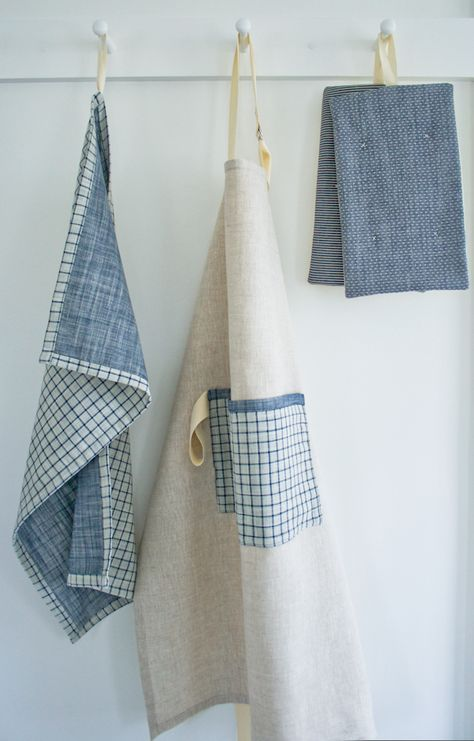 Super Simple Dishtowels | Sewing | Dish towels, Sewing