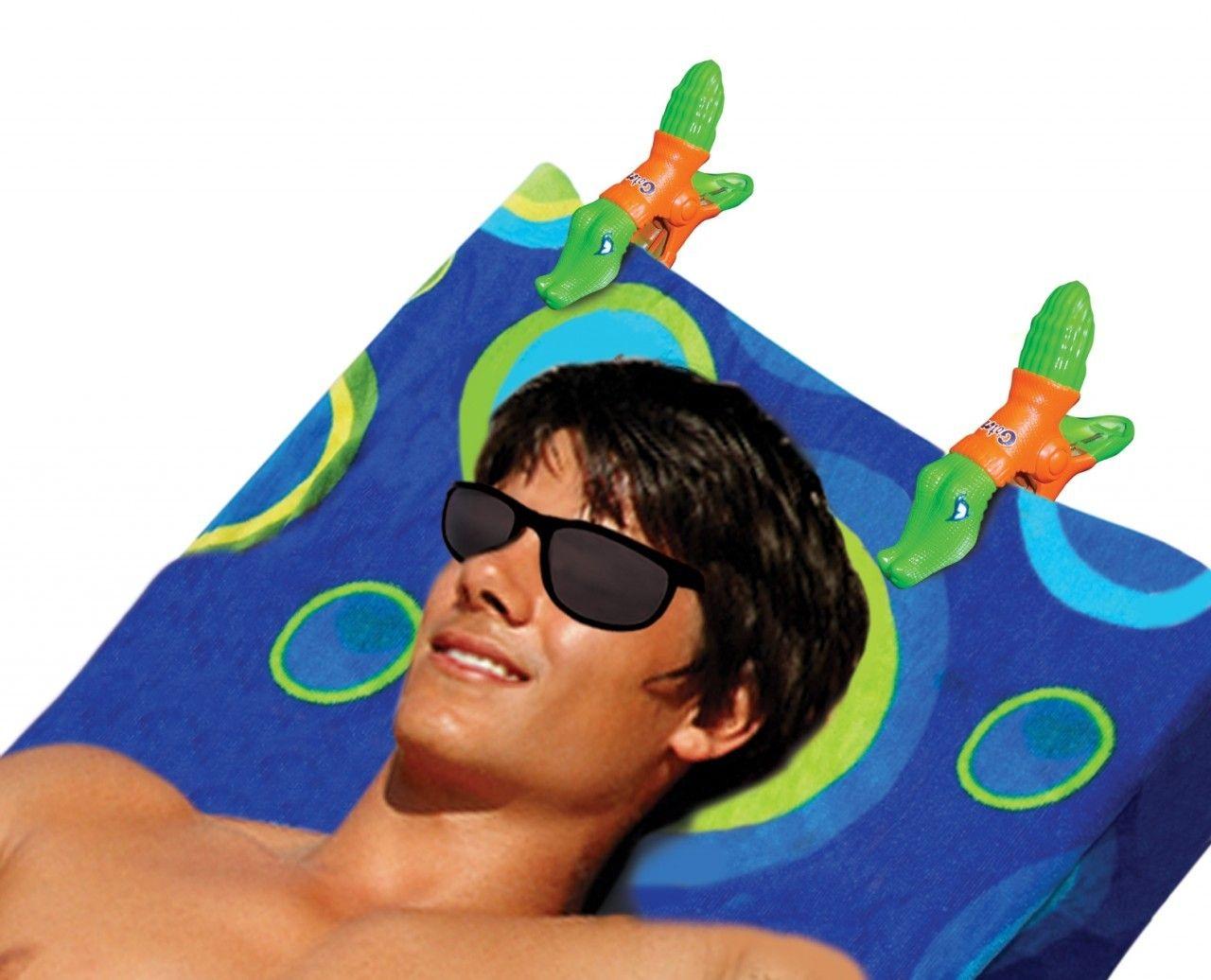 University of Florida Gators Boca Beach Towel Clips Boca